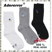 ADERERROR Unisex Plain Cotton Undershirts & Socks