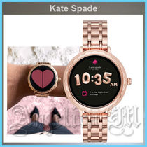 kate spade new york Casual Style Round Stainless Digital Watches