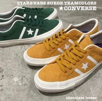 2d85c27b03a CONVERSE ONE STAR Star Unisex Suede Plain Sneakers