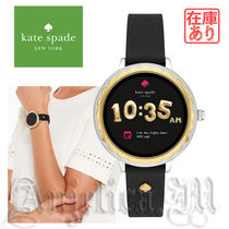 kate spade new york Casual Style Silicon Round Digital Watches