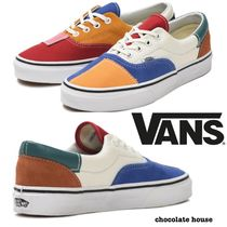 VANS ERA Other Check Patterns Unisex Suede Loafers & Slip-ons