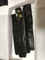 HERMES Leather Handmade Leather & Faux Leather Gloves