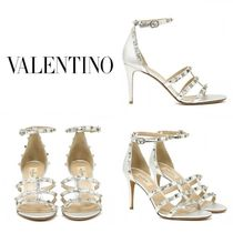 VALENTINO Leather Heeled Sandals