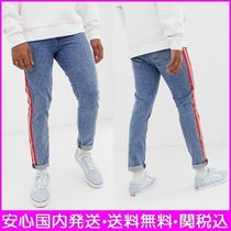 Levi's Tapered Pants Stripes Denim Street Style Plain Jeans & Denim