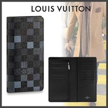 Louis Vuitton DAMIER Other Check Patterns Canvas Blended Fabrics Street Style
