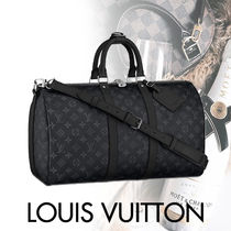 Louis Vuitton MONOGRAM Blended Fabrics Street Style 1-3 Days Soft Type Carry-on