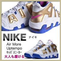 Nike AIR MORE UPTEMPO Petit Street Style Kids Girl Sneakers