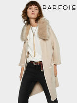 PARFOIS Blended Fabrics Medium Down Jackets