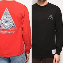 HUF Sweat Street Style Long Sleeves Logos on the Sleeves
