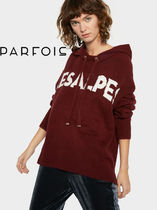 PARFOIS Long Sleeves Medium Hoodies & Sweatshirts