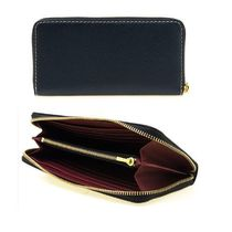 MARC JACOBS Bi-color Leather Long Wallet  Long Wallets