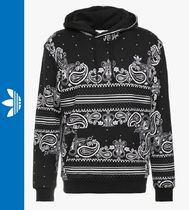adidas Pullovers Paisley Sweat Street Style Long Sleeves Hoodies