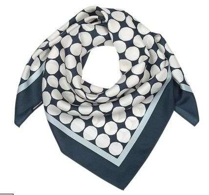 Dots Silk Lightweight Scarves & Shawls