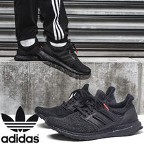 adidas ULTRA BOOST Street Style Bi-color Plain Loafers & Slip-ons