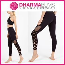 DHARMABUMS Blended Fabrics Street Style Yoga & Fitness Bottoms