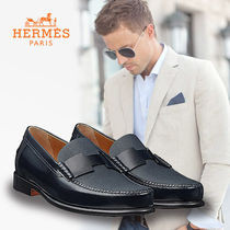 HERMES Loafers Leather Loafers & Slip-ons