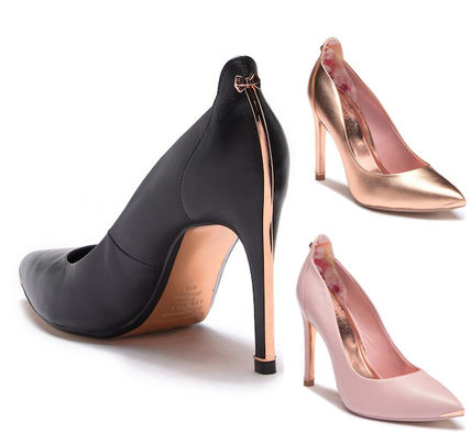 Pin Heels Pointed Toe Pumps & Mules