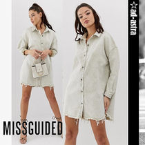 Missguided Long Sleeves Dresses