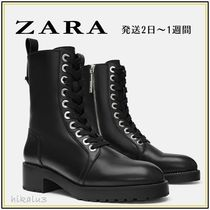 ZARA Elegant Style Ankle & Booties Boots