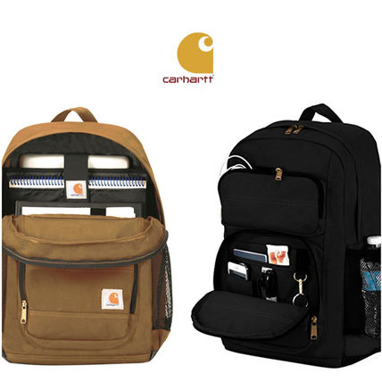 Carhartt 2019 SS Unisex Canvas A4 Plain Backpacks by KUOKUO - BUYMA
