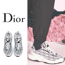 Christian Dior Monogram Street Style Collaboration Sneakers