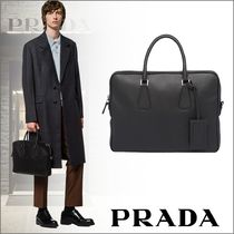 PRADA Saffiano A4 Plain Business & Briefcases