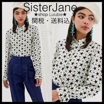 Sister Jane Star Casual Style Chiffon Long Sleeves Shirts & Blouses
