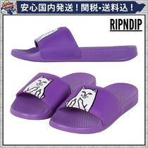 RIPNDIP Street Style Plain Other Animal Patterns Shower Shoes