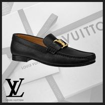 Louis Vuitton MONTAIGNE Loafers Plain Leather U Tips Loafers & Slip-ons