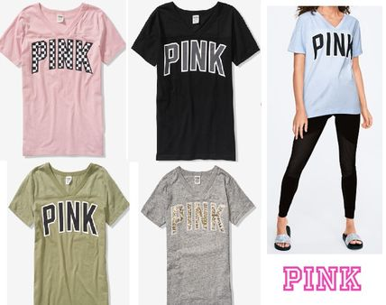 1cc96813 Victoria's secret PINK 2019 SS Short Sleeves T-Shirts by NYCandy - BUYMA