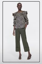 ZARA Other Animal Patterns Shirts & Blouses