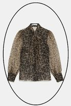 ZARA Leopard Patterns Other Animal Patterns Shirts & Blouses