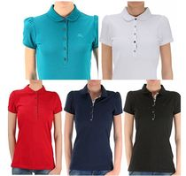 Burberry Cotton Short Sleeves Polo Shirts