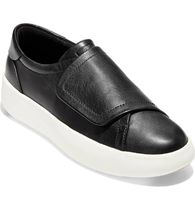 Cole Haan Rubber Sole Casual Style Plain Leather Low-Top Sneakers