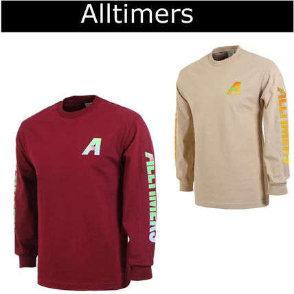 Pullovers Long Sleeves Plain Cotton Long Sleeve T-Shirts