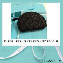 Tiffany & Co Heart Blended Fabrics Pouches & Cosmetic Bags