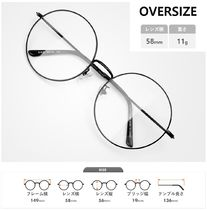 Round Oversized Optical Eyewear