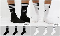 adidas Street Style Plain Cotton Undershirts & Socks