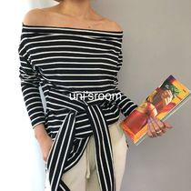 Stripes Cotton Medium Bandeau & Off the Shoulder