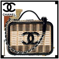 CHANEL 2WAY Straw Bags