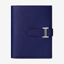 HERMES Bearn Unisex Plain Leather Accessories