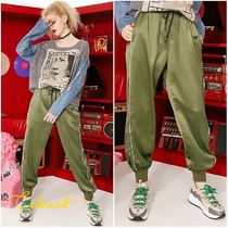 ELF SACK Casual Style Street Style Pants