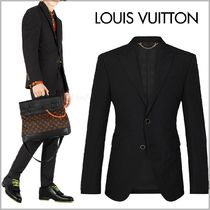 Louis Vuitton Blended Fabrics Plain Blazers Jackets