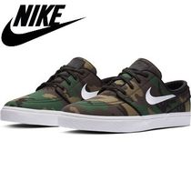 Nike Camouflage Street Style Sneakers