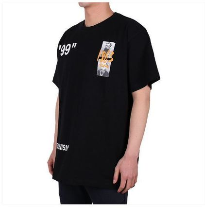 Off-White More T-Shirts Street Style Oversized T-Shirts 3