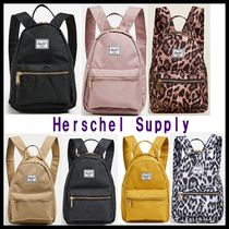 Ron Herman Leopard Patterns Casual Style Plain Backpacks