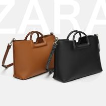 ZARA Other Animal Patterns Office Style Totes