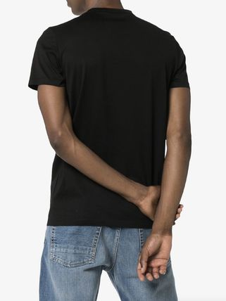 MONCLER More T-Shirts Unisex Street Style Plain Cotton Logo T-Shirts 5