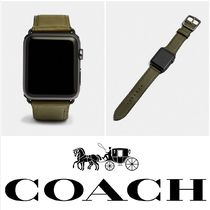 Coach Leather Office Style Apple Watch Belt Watches