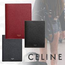CELINE Unisex Bold Passport Cases